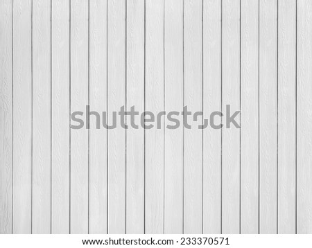 White wood wall texture - stock photo