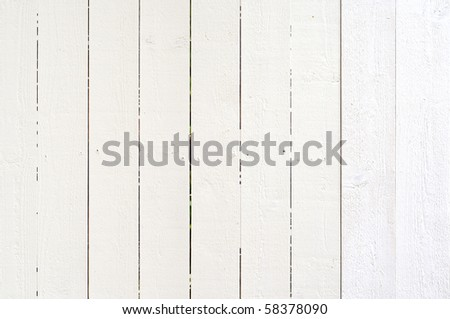 White wooden background - stock photo