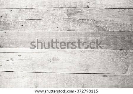 white wooden background textures - stock photo