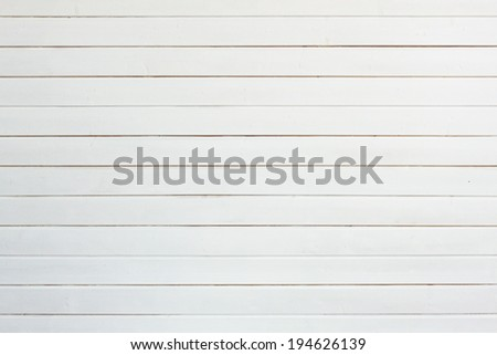 White wooden floor boards - stock photo