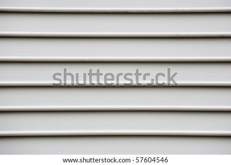 White wooden panels - stock photo