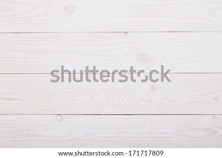 white wooden plank - stock photo