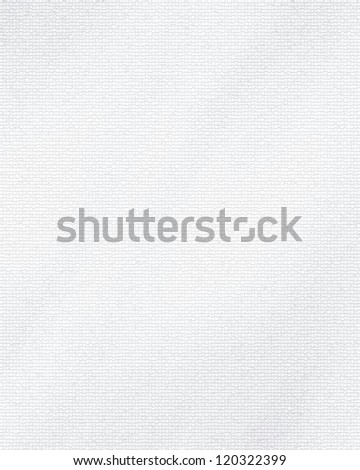 White woven texture with some soft highlights and shades - stock photo
