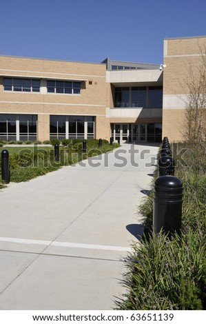 Whitehall Middle School in Pennsylvania - stock photo
