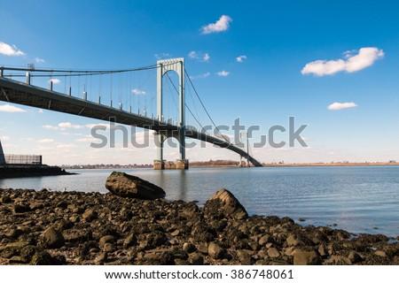 Whitestone Bridge - stock photo