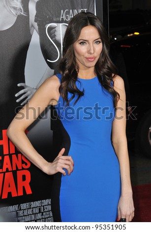 """Whitney Cummings at the Los Angeles premiere of """"This Means War"""" at Grauman's Chinese Theatre, Hollywood. February 8, 2012  Los Angeles, CA Picture: Paul Smith / Featureflash - stock photo"""