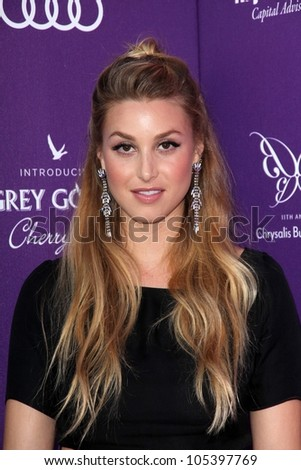 Whitney Port at the 2012 Chrysalis Butterfly Ball, Private Location, Los Angeles, CA 06-09-12 - stock photo