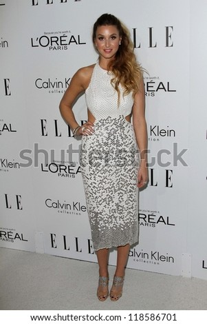 Whitney Port at the Elle Magazine 17th Annual Women in Hollywood, Four Seasons, Los Angeles, CA 10-15-12 - stock photo