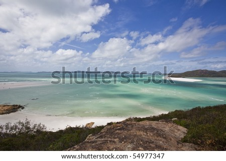 whitsundays island australia - stock photo