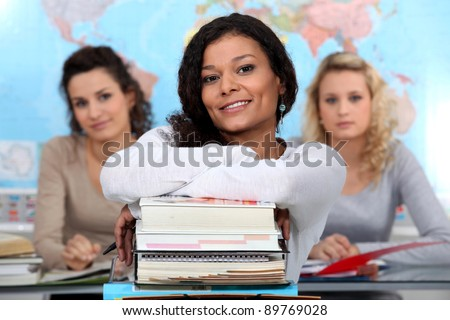 Who's the leader? - stock photo