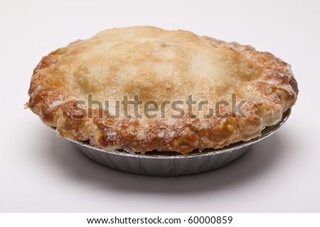 Whole Homemade Apple Pie - stock photo