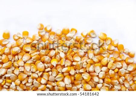 Whole kernel corn - stock photo