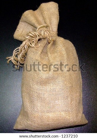 Whole sack - stock photo