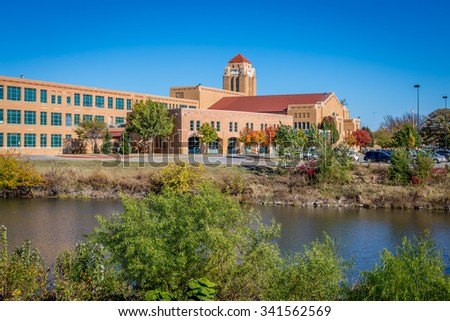 Wichita Kansas  - stock photo