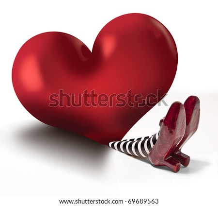 Wicked Love - stock photo