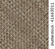 Wicker Basket Seamless Texture - stock photo