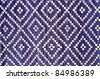 Wicker pattern, from a real handmade box. - stock photo