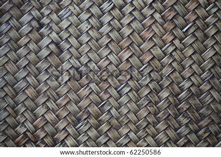 Wicker Texture - stock photo