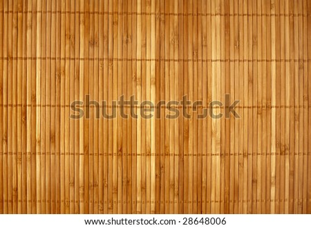 Wicker texture bamboo wood background - stock photo