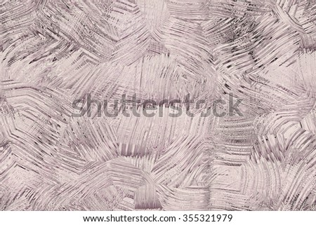 Wide continuous   ice pattern   - stock photo