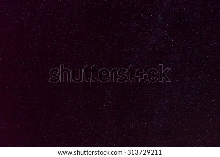 Wide field image of the Sagittarius Star Cloud. - stock photo