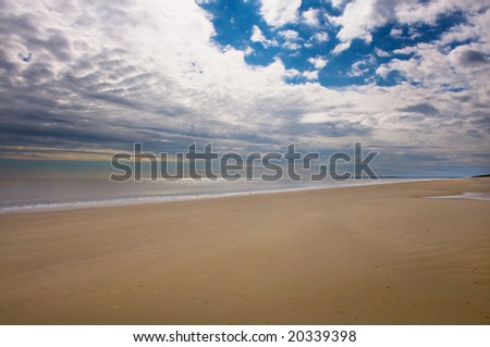 Wide Open Beach