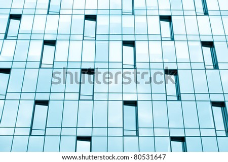 wide pane of textured real estate, business background - stock photo