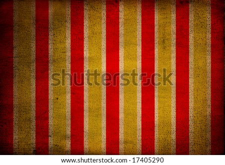Wide striped grungy background, Spain flag - stock photo
