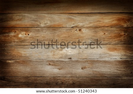 Wide wooden boards wall texture background - stock photo