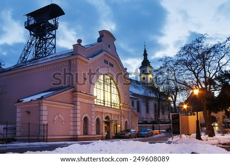 WIELICZKA - FEBRUARY 03, 2015: Salt Mine and the historic Regis Shaft, Wieliczka, Poland.