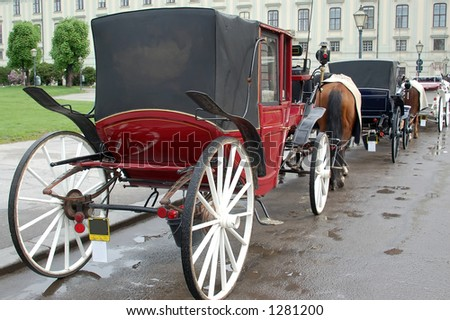 Wiener Carriages - stock photo