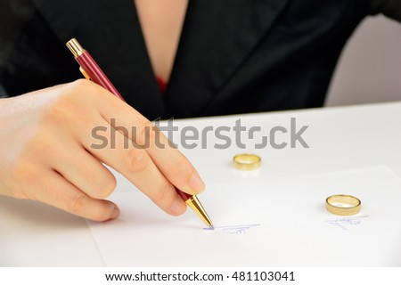 Divorce-Papers Stock Images, Royalty-Free Images & Vectors