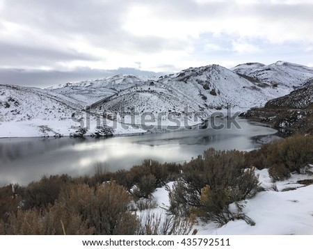 Wild Horse Reservoir,  Elko County, Nevada
