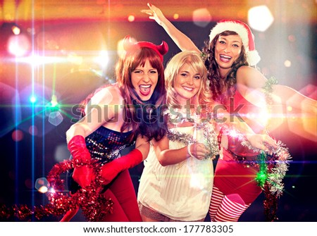 wild times celebration - stock photo