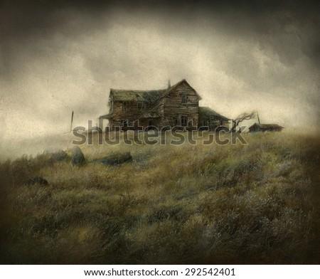 Wild West House - stock photo