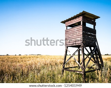 Tree Stand Hunting Stock Photos Images Amp Pictures