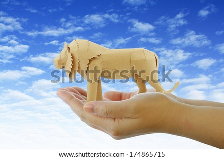 Wildlife protection concept - stock photo