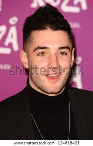 "Will Best arrives for the Cirque du Soleil ""Kooza"" VIP performance at the Royal Albert Hall, London. 08/01/2013.  Picture by: Steve Vas"