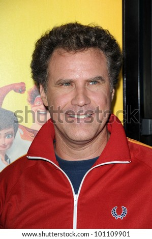 "Will Ferrell at the ""Megamind"" Los Angeles Premiere, Chinese Theater, Hollywood, CA. 10-30-10 - stock photo"