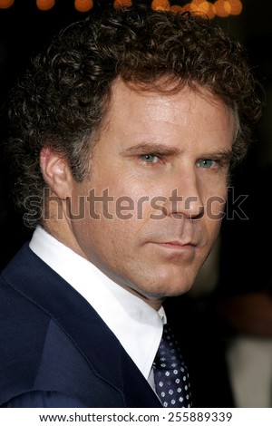 "Will Ferrell attends the Los Angeles Premiere of ""Stranger Than Fiction"" held at the Mann Village Theatre in Westwood, California, on October 30, 2006.  - stock photo"