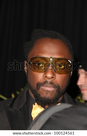 Will i Am at the Black Eyed Peas 7th Annual Peapod Benefit Concert, Music Box, Hollywood, CA. 02-10-11