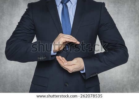 will protect your business - stock photo