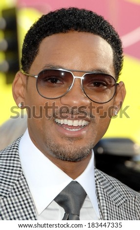 Will Smith at HANCOCK Premiere, Grauman's Chinese Theatre, Hollywood, CA, June 30, 2008 Photo by David Longendyke/Everett Collection - stock photo