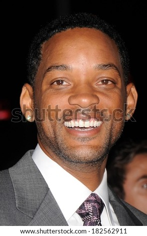 Will Smith at Premiere of LAKEVIEW TERRACE, AMC Lincoln Square Theatre, New York, NY, September 15, 2008 - stock photo