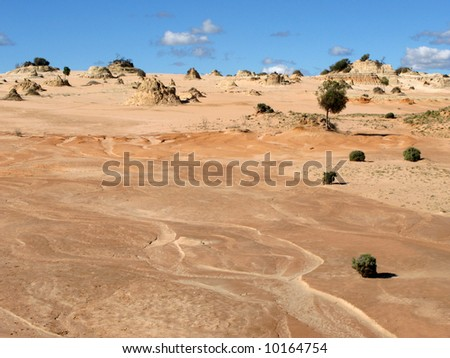Willandra Lakes National Park, UNESCO, Australia