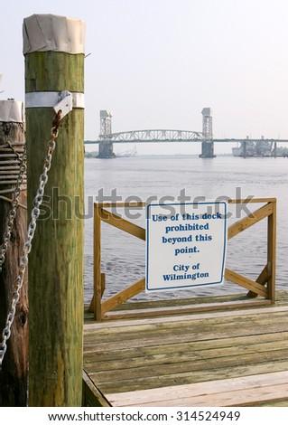 Wilmington, North Carolina - stock photo