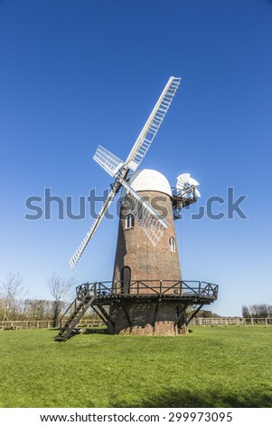 Wilton Windmill, Wilton, Wiltshire, UK, a restored windmill which is a popular local tourist attraction and landmark