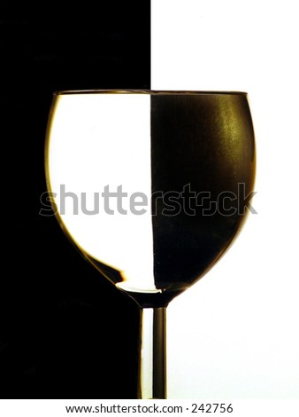 Win glass shot in colour - stock photo
