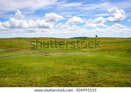 Wind Cave National Park - stock photo