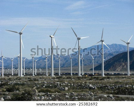 Wind Electric Power Station, Palm Spring, California